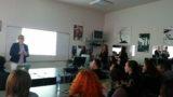 Vorlesung in Blagoevgrad (Bulgarien)
